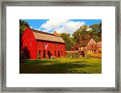 Gilbert Stuart Museum Framed Print by Lourry Legarde
