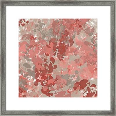 Ginkgo Leaves Framed Print by Bonnie Bruno