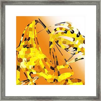 Giraffe  Framed Print by Betsy Knapp