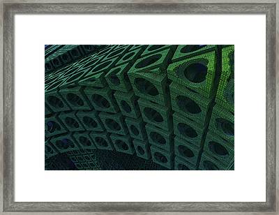 Girders Framed Print by Lyle Hatch