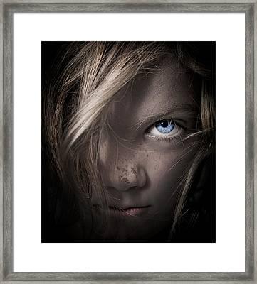 Girl Framed Print by Paul Neville