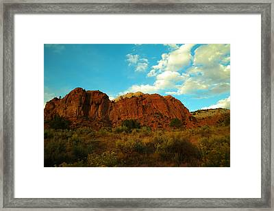 Give Me New Mexico Framed Print by Jeff Swan