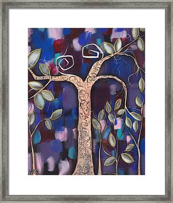 Giver Of Life Framed Print by  Abril Andrade Griffith