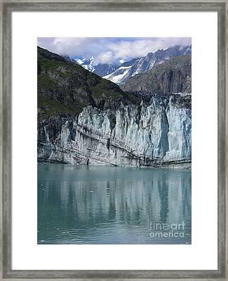 Glacier Bay Majesty Framed Print by Sandra Bronstein