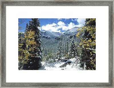 Glacier Gorge Framed Print by Eric Glaser