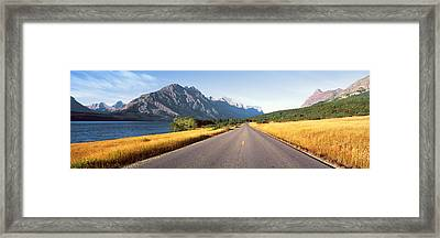 Glacier National Park, Montana Framed Print by Panoramic Images