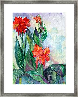 Glad To Be Framed Print by Mindy Newman