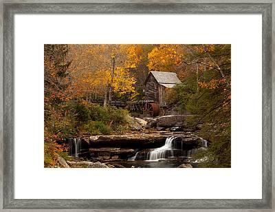 Glades Creek Mill Framed Print by Doug McPherson
