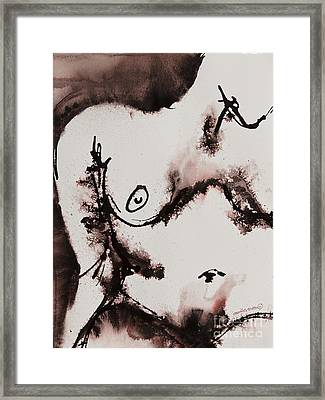 More Than No. 1022 Framed Print by Ilisa  Millermoon
