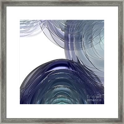 Glas Orb Framed Print by Patrick Guidato