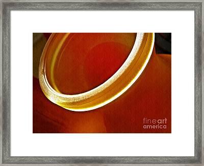 Glass Abstract 776 Framed Print by Sarah Loft