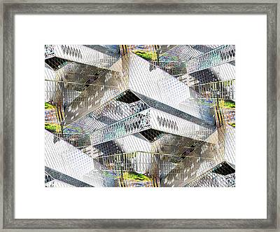Glass House Framed Print by Tim Allen