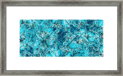Glass Sea Framed Print by Ron Bissett
