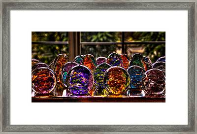 Glass Symphony Framed Print by David Patterson