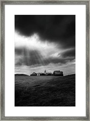 Glaumbaer Framed Print by Tor-Ivar Naess