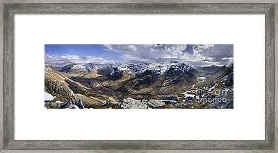 Glencoe - Scotland Framed Print by Rod McLean