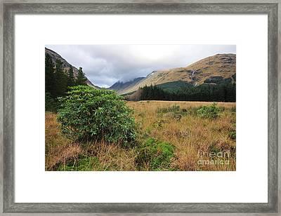 Glen Etive Framed Print by Stephen Smith