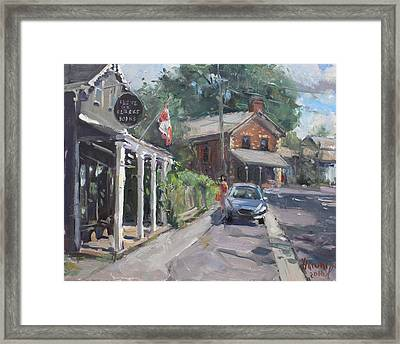 Glen Williams Ontario Framed Print by Ylli Haruni