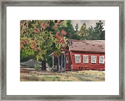 Glenbrook Framed Print by Donald Maier