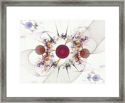 Globes Of Many Framed Print by Deborah Benoit