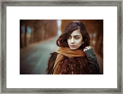 Glorious Framed Print by Amirhossein Kazemi