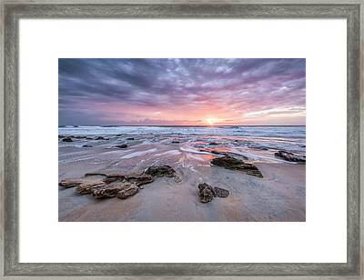 Glorious In St. Augustine Framed Print by Jon Glaser