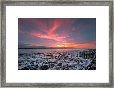 Glorious Sky Framed Print by Ryan McGinnis