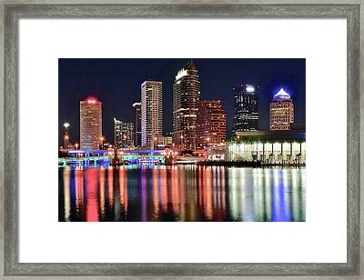 Glorious Tampa Bay Florida Framed Print by Frozen in Time Fine Art Photography