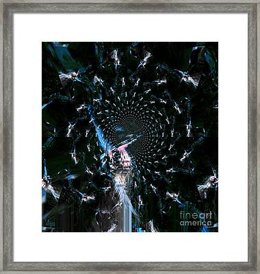 Glory Framed Print by Fania Simon