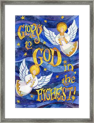 glory to God Framed Print by Mark Jennings