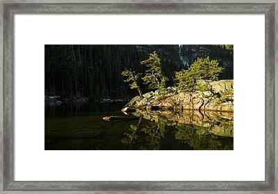 Glow Framed Print by Chad Dutson