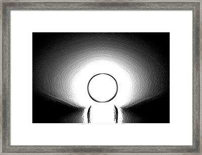 Glow In The Dark Framed Print by Art Spectrum