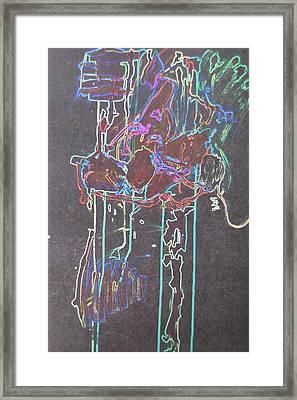 Glow Framed Print by Luci Ferguson