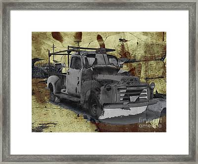 Gmc Pickup Framed Print by Robert Ball