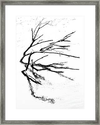 Go With The Flow Framed Print by Skip Willits