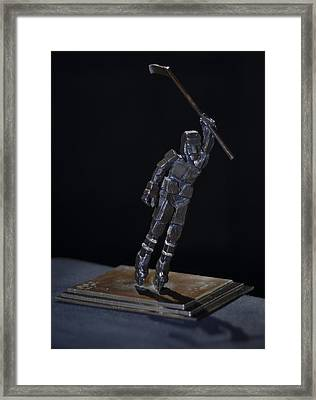 Goal By Yack Framed Print by Ken Yackel