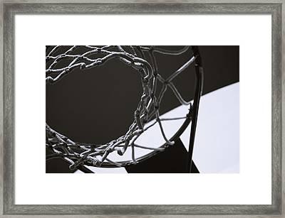 Goal Framed Print by Steven Milner