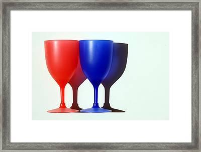 Goblets Framed Print by Dan Holm