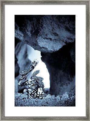 Goblin Shaman Framed Print by Marc Garrido
