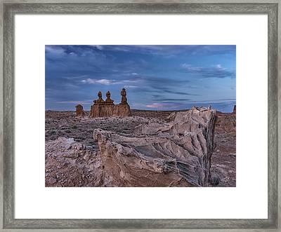 Goblin Valley 3 Framed Print by Leland D Howard