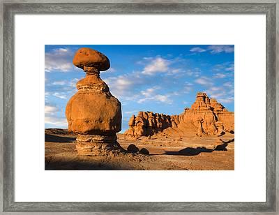 Goblin Valley State Park Utah Framed Print by Utah Images