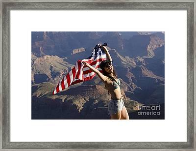 God Bless America Framed Print by Bob Christopher