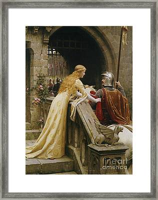 God Speed Framed Print by Edmund Blair Leighton