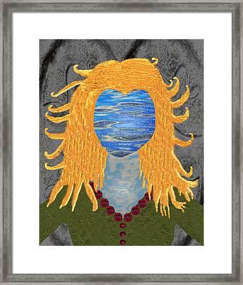 Goddess Brighid Framed Print by EnDora TwinkLens