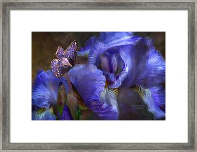 Goddess Of Mystery Framed Print by Carol Cavalaris