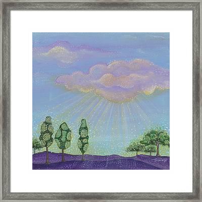 God's Grace Framed Print by Tanielle Childers