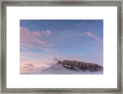 Gods Mountain Framed Print by Jon Glaser