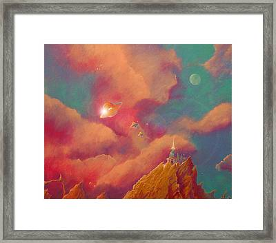 Gods Of Olympus Framed Print by Steve Griffith