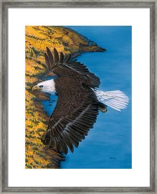 God's Viewpoint Framed Print by Wayne Pruse