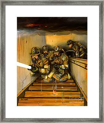 Goin' To Work Framed Print by Paul Walsh